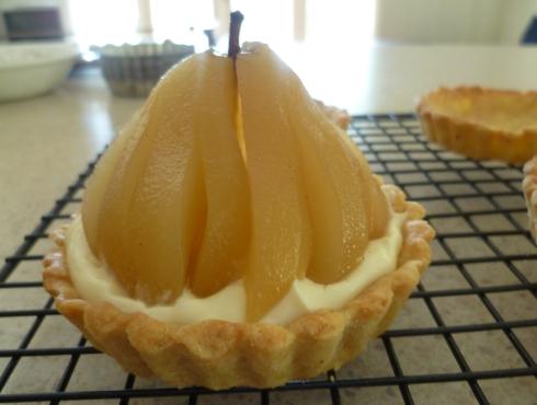Pear tarts